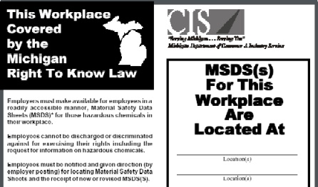 right to know and right to The hazard communication worker right-to-know program protects the health  and safety of public employees by ensuring that public.